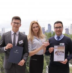Siegerteam Bankfachklasse-Award