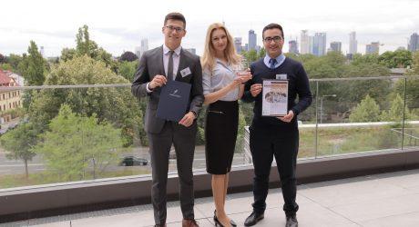 Siegerteam Bankfachklasse-Award, Auszubildende der Deutschen Bank AG Essen