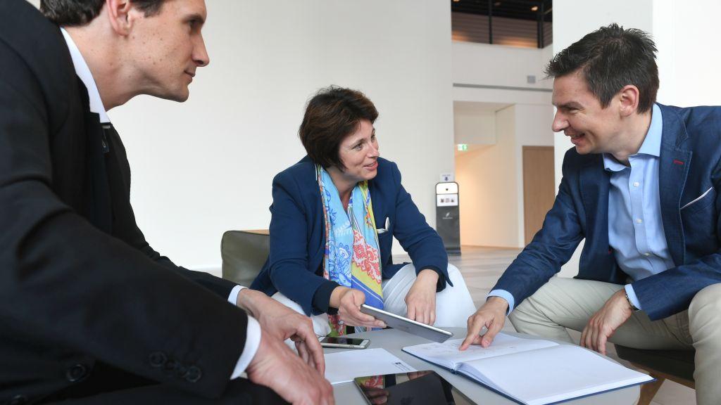 Prof. Dr. Philipp Sandner, Leiter des Frankfurt School Blockchain Centers