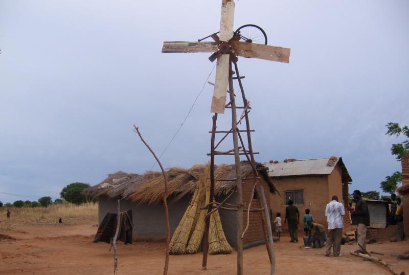 Grassroots innovation by William Kamkwamba. CC Erik Hersman